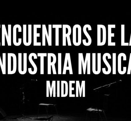 Encuentros de la industria musical: Midem 2016