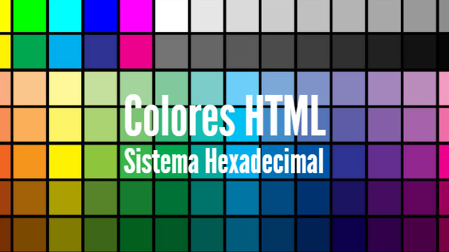 El sistema hexadecimal (HTML)