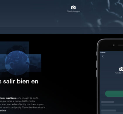 Spotify for Artists (I)… ¡verifica tu perfil y personaliza tus fotos en Spotify!