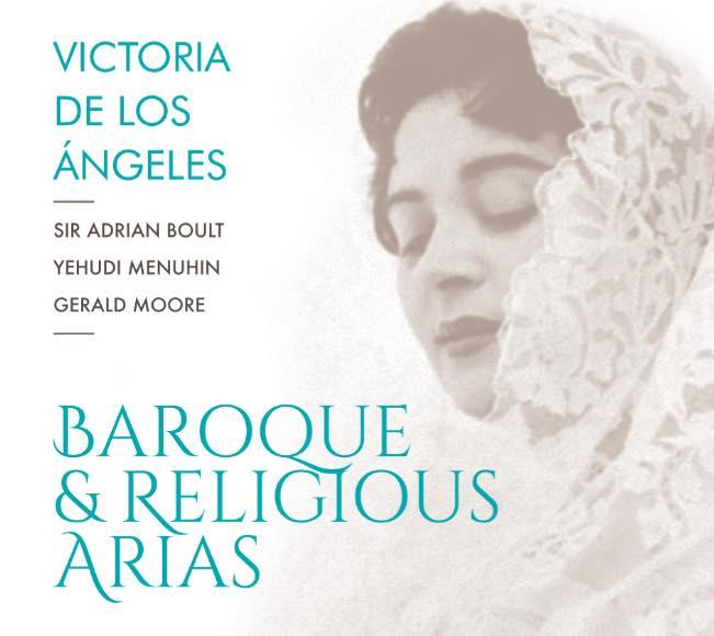 Victoria de los Ángeles i la reedició de 'Baroque & Religious Arias'