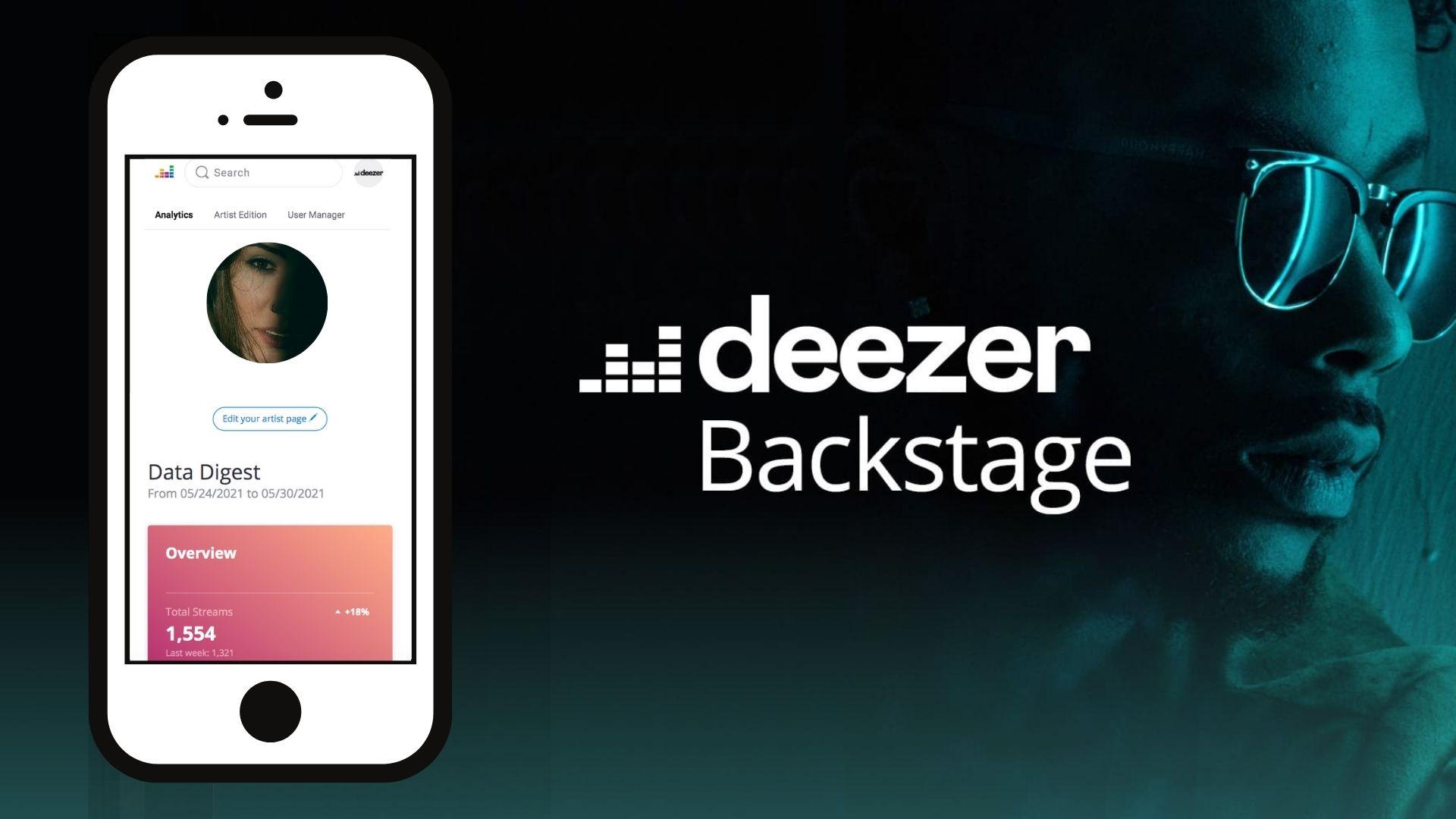 Solicita y accede a tu perfil de artista en Deezer Backstage