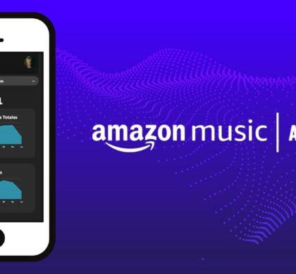 Solicita y accede a tu perfil de artista en Amazon Music for Artists